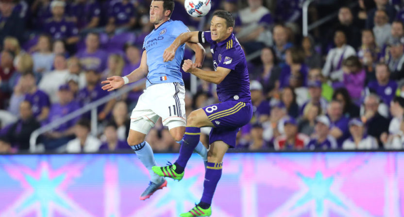 Orlando City midfielder Will Johnson arrested on battery charges