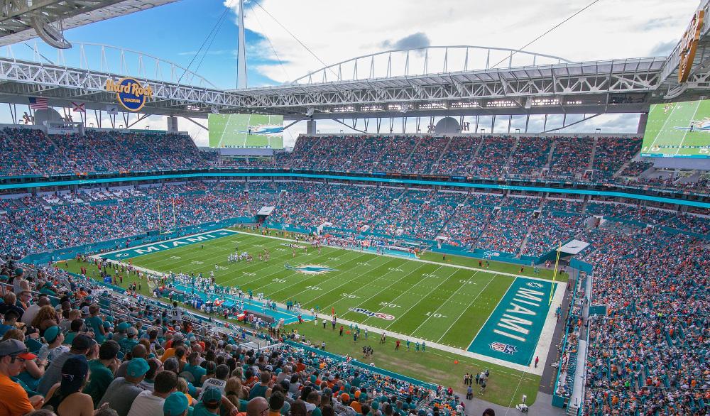 Dolphins To Assess Hard Rock Stadium Damage After Tornado