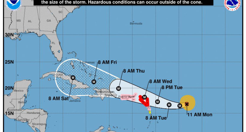 The Dolphins&#039 game against the Buccaneers could be moved by Hurricane Irma