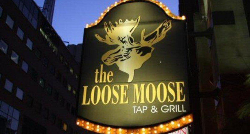 The Loose Moose Tap and Grill in Toronto.