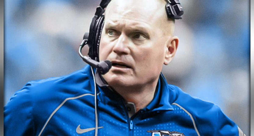 Scott Shafer, now the Middle Tennessee DC, beat his old Syracuse team Saturday.