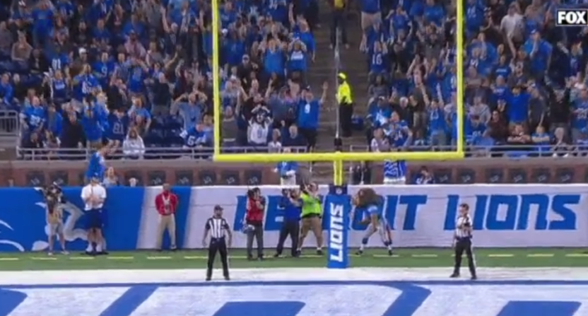 More punters with issues: Lions punter drops ball in end zone