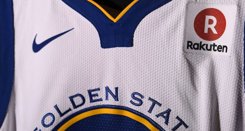 Golden State Warriors sign lucrative jersey sponsorship deal