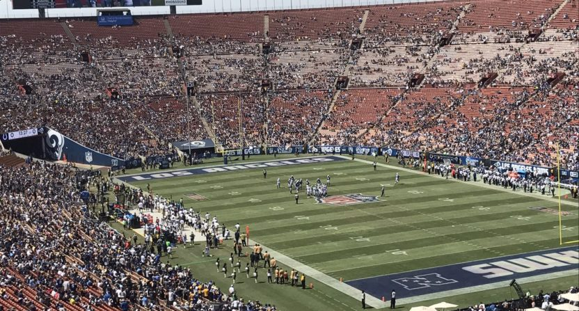 The Rams Are Suffering A Historic Attendance Decline