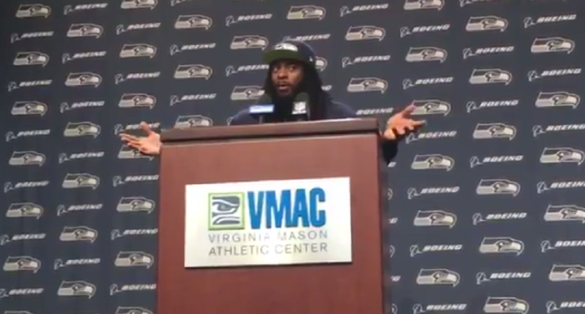 Richard Sherman offers interesting theory on injury reports