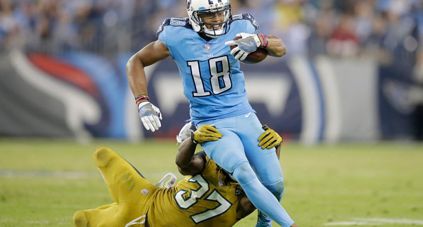 Titans WR Rishard Matthews calls since-deleted tweet 'a bad decision'