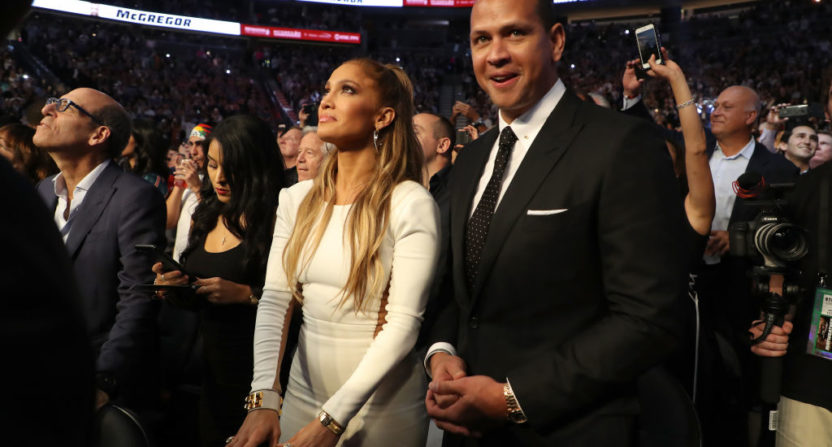 Alex Rodriguez Texted J. Lo In the Middle of Their First Date