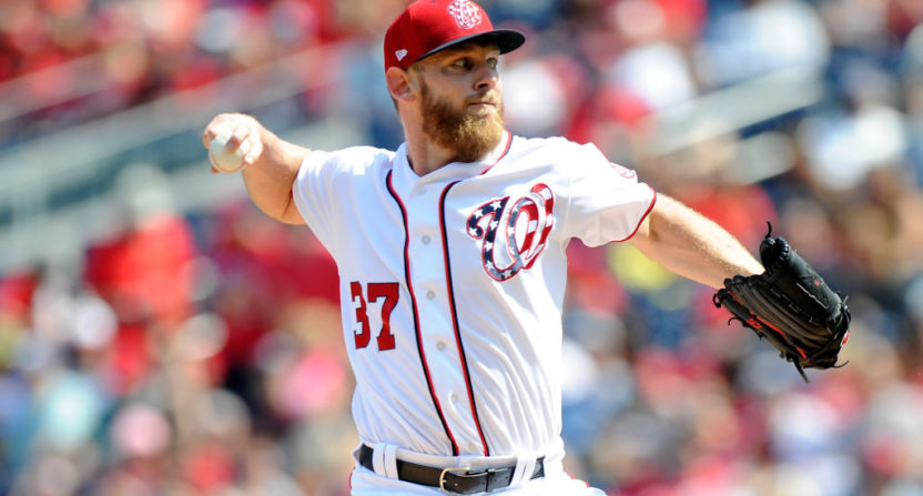 stephen strasburg-washington nationals