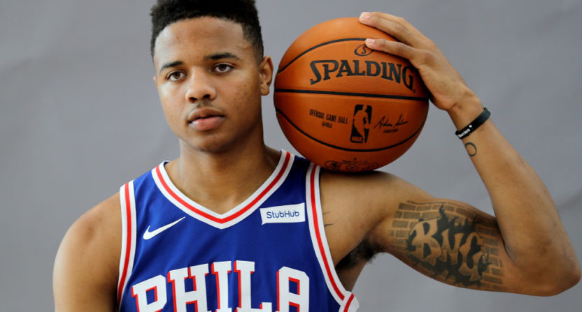 Markelle Fultz can't shoot free throws anymore