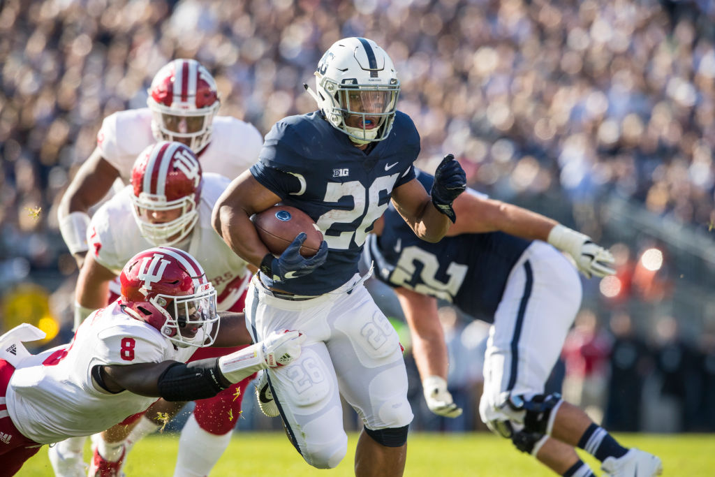 for penn state and saquon barkley michigan game begins. Black Bedroom Furniture Sets. Home Design Ideas