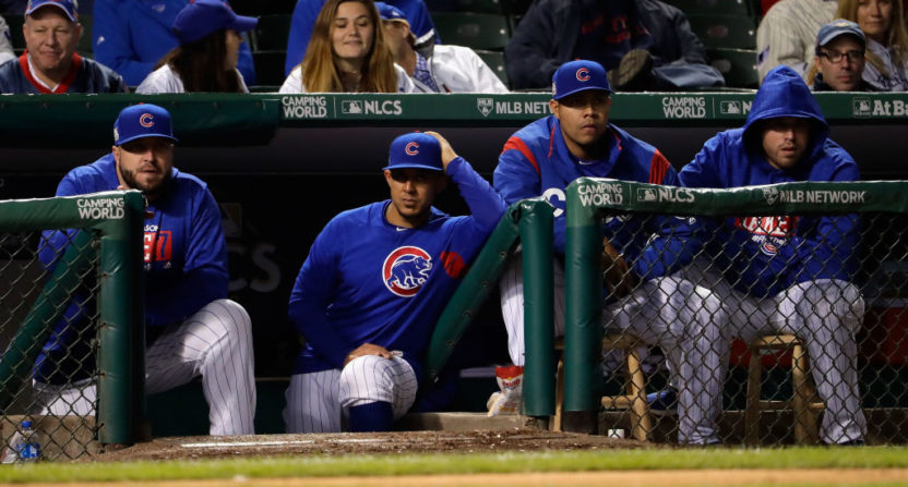 Cubs show spark in NLCS