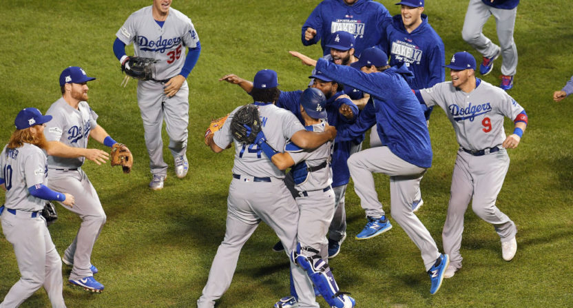 Los Angeles Dodgers clinch first World Series berth since 1988