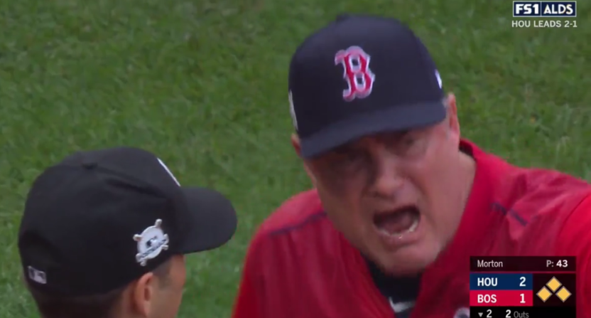 John Farrell was ejected Monday.