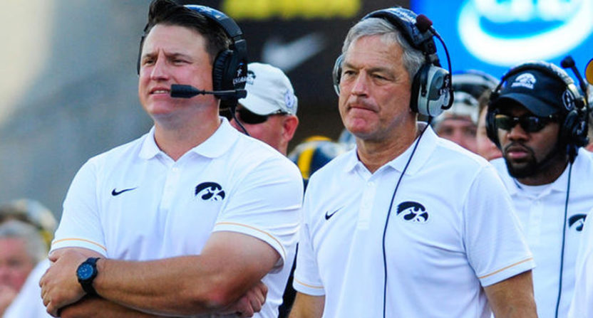 Iowa Completes Process Looking into Brian Ferentz Incident