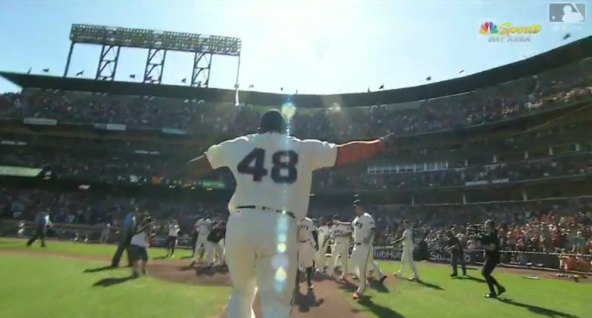Pablo Sandoval's season-ending walkoff HR cost the Giants the No. 1 overall pick.