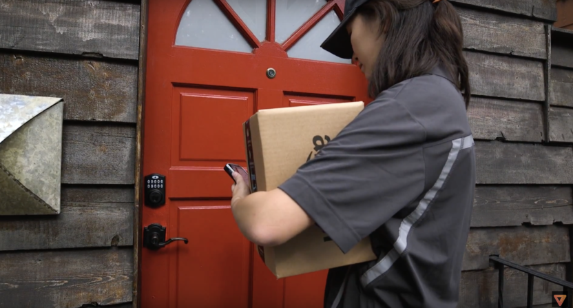 Amazon is launching a new service where you can allow for Door unlock service