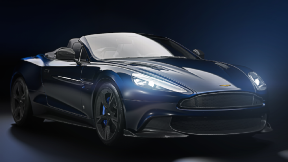 Tom Brady's sweet ride: Aston Martin debuts TB12 vehicle