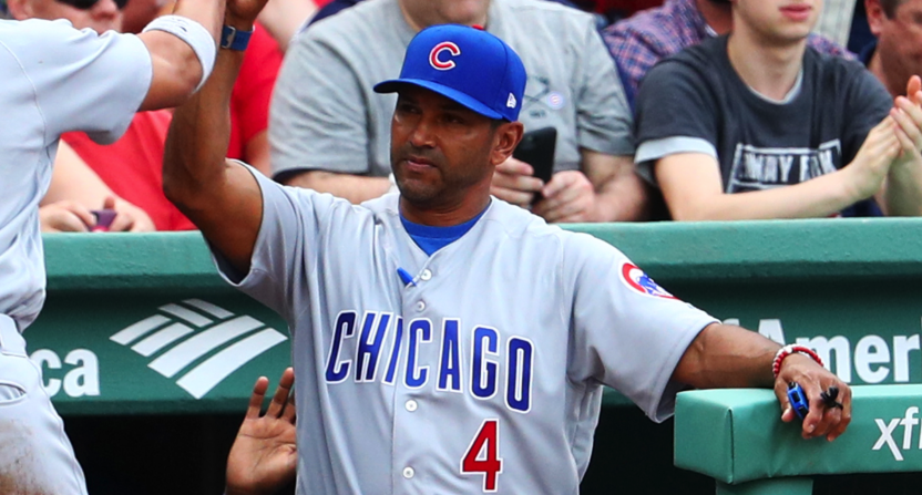 Nationals set to make Dave Martinez next manager