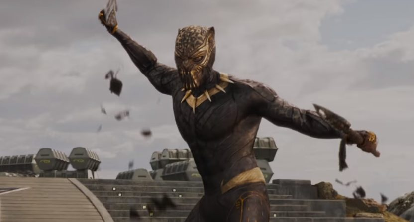 gold panthers floating trains and important women takeaways from the new black panther trailer. Black Bedroom Furniture Sets. Home Design Ideas