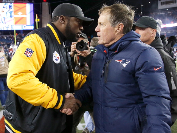 Mike Tomlin is already setting the stage for an AFC championship showdown with the Patriots.