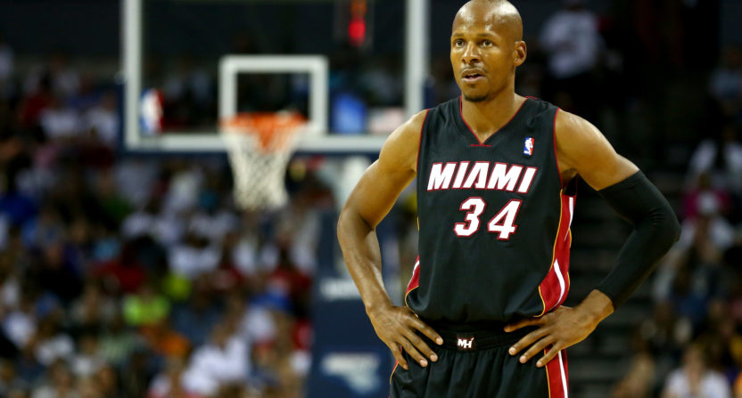 Ray Allen claims he was victim of man's catfishing scheme
