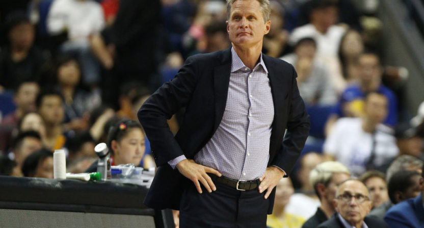 Steve Kerr: Gun control should be a public safety, public health issue