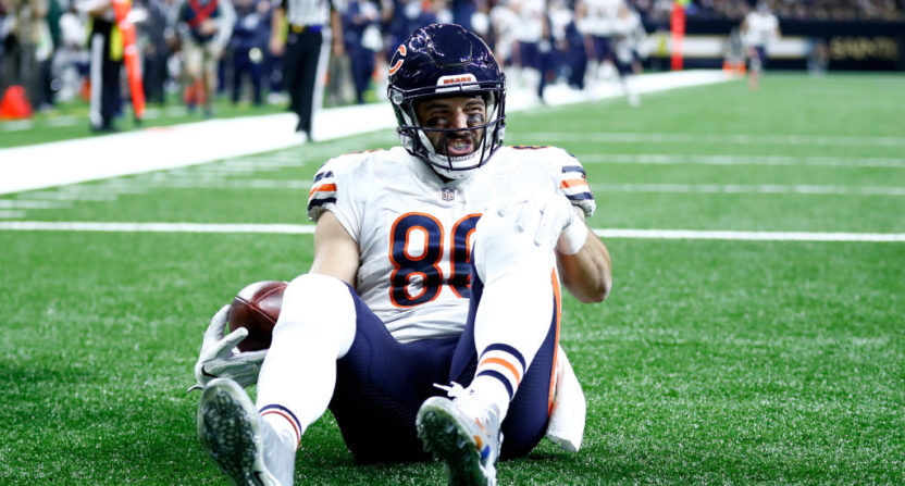 Bears' Zach Miller heading home following leg surgery at UMC