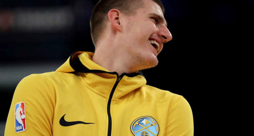 Nikola Jokic compiles quick triple-double as Nuggets roll