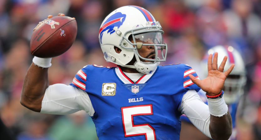 Tyrod Taylor 'shocked' by benching, will continue leading, helping Nathan Peterman