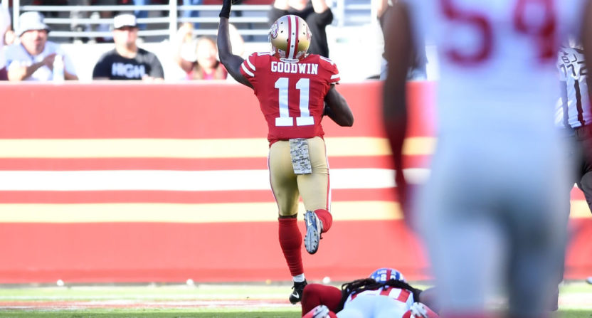Wife's selflessness helped me play — Marquise Goodwin
