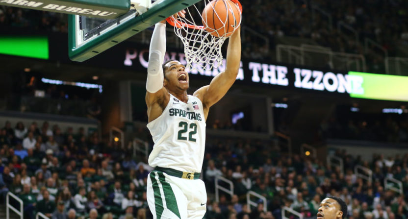 College basketball: No. 3 Michigan State dismantles No. 5 Irish