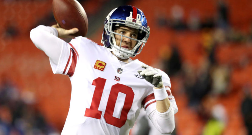 Former Giants Trash The Franchise For Benching Eli Manning