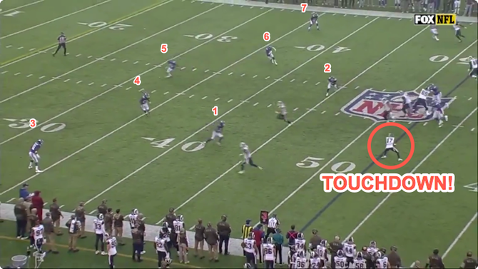 There were a ton of Giants in front of Robert Woods.