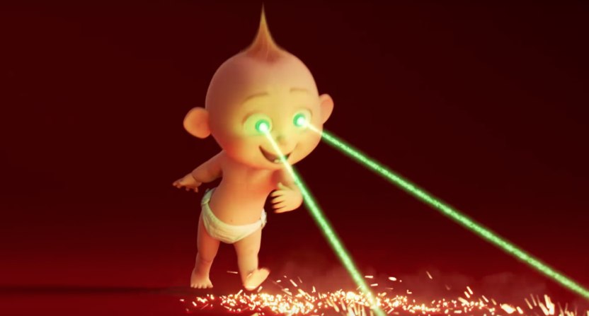 INCREDIBLES 2 Teaser Trailer Shows Off Jack-Jack's Powers