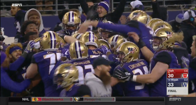 No. 16 Washington gets 10 points in last minute to stun Utah