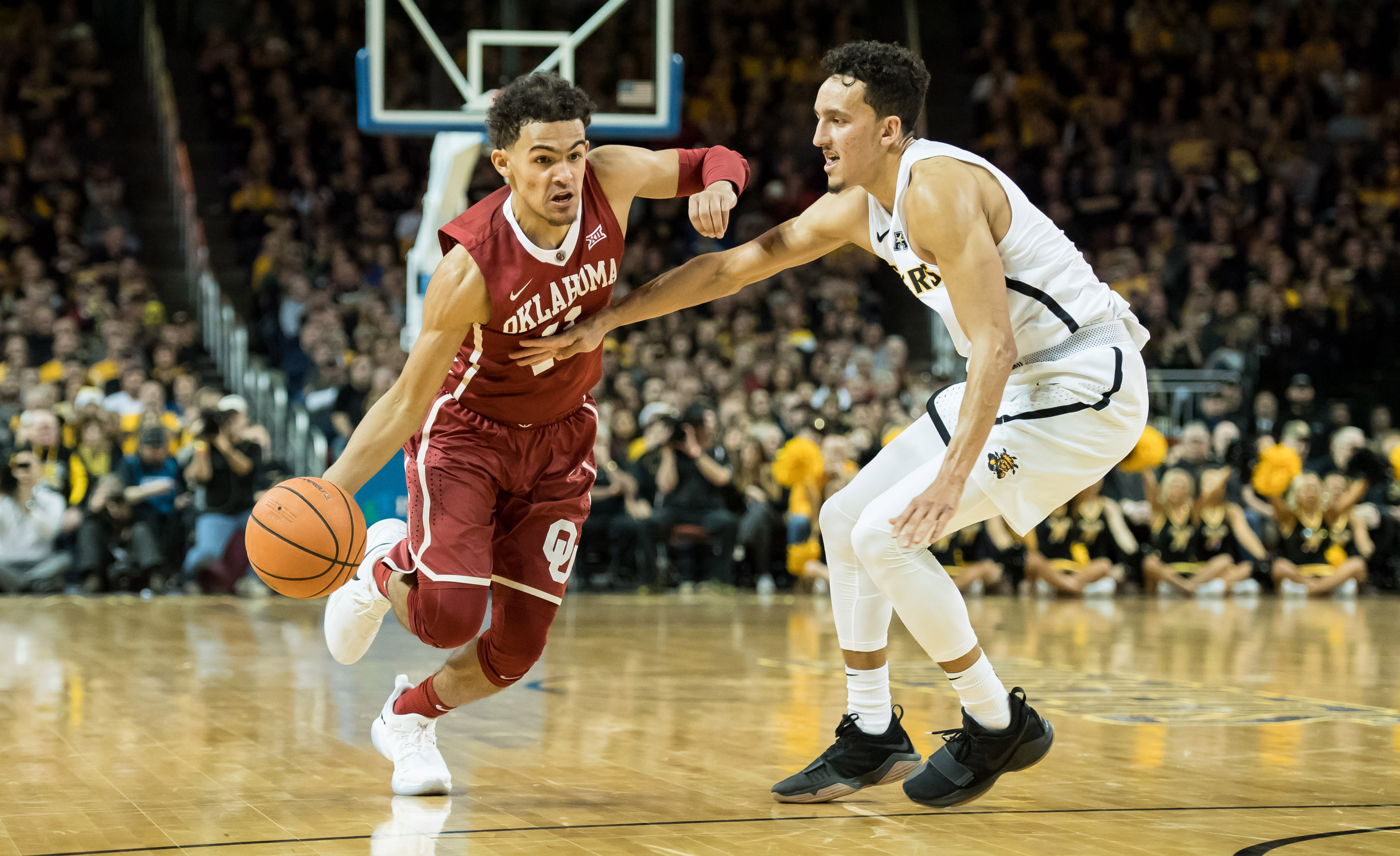 Trae Young's 26 points and 22 assists show why he's one of the best college point guards in a ...