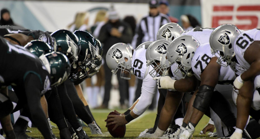 philadelphia eagles-oakland raiders-bad beat