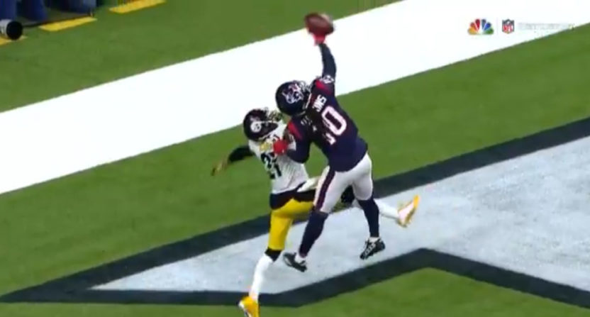 DeAndre Hopkins made this great grab.