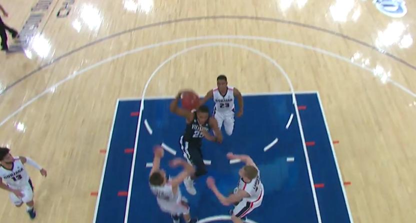 Mikal Bridges threw down this dunk against Gonzaga.