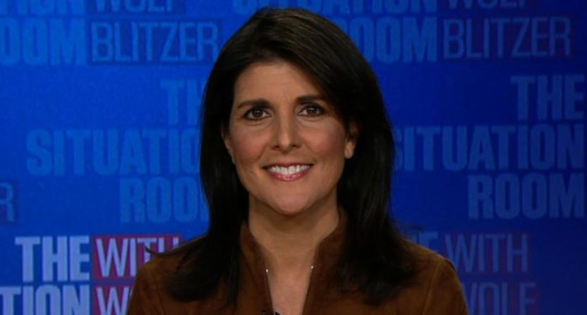 Nikki Haley on CNN.