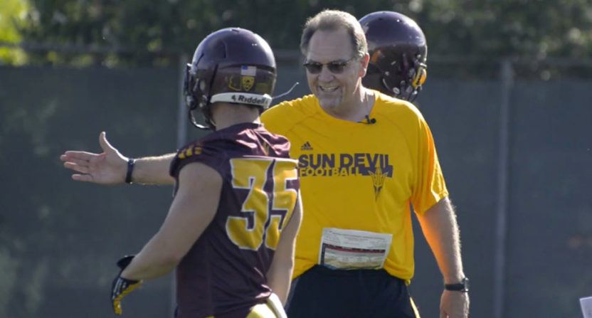 Arizona State defensive coordinator Phil Bennett leaving for health issues