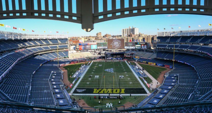 Wednesday's Pinstripe Bowl at Yankee Stadium saw lots of weirdness.