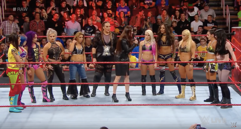 Stephanie McMahon announces women's only Royal Rumble match