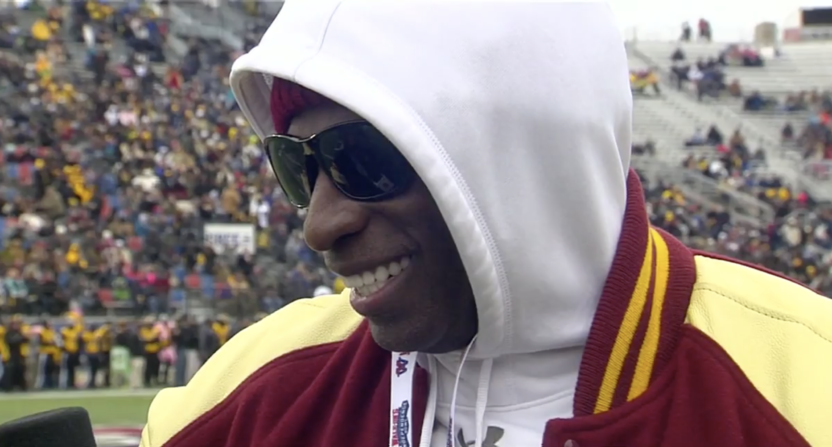 Deion Sanders being considered for FSU coaching staff position