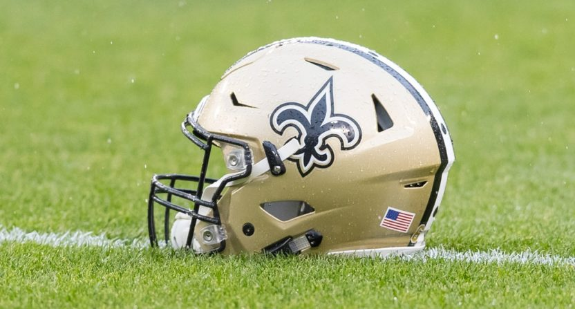 Fan suing Saints over national anthem protests
