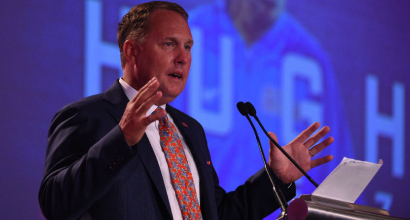 SEC could block Alabama from hiring Hugh Freeze