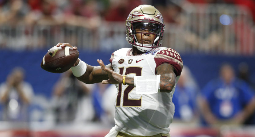 Florida State QB I Didn't Beat My Pregnant GF ... She Attacked Me!