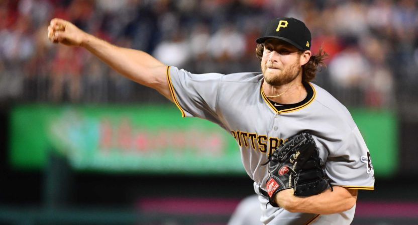 Pirates trade Yankees' target Gerrit Cole to Astros
