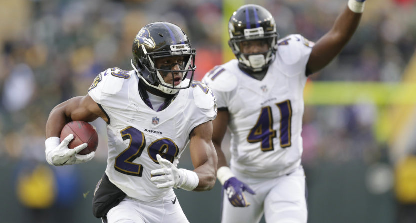 Ravens CB Humphrey Charged With Robbery For Allegedly Stealing $15 Phone Charger