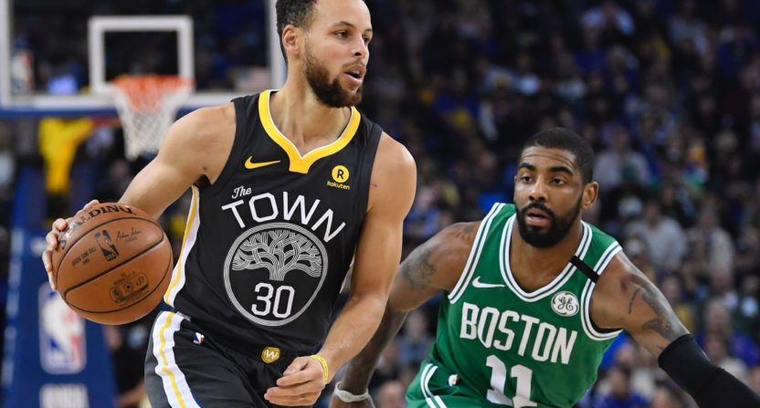 Curry scores 49 as Warriors hold off pesky Celtics